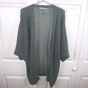 [UO] Kimchi Blue Open Knit Cardigan